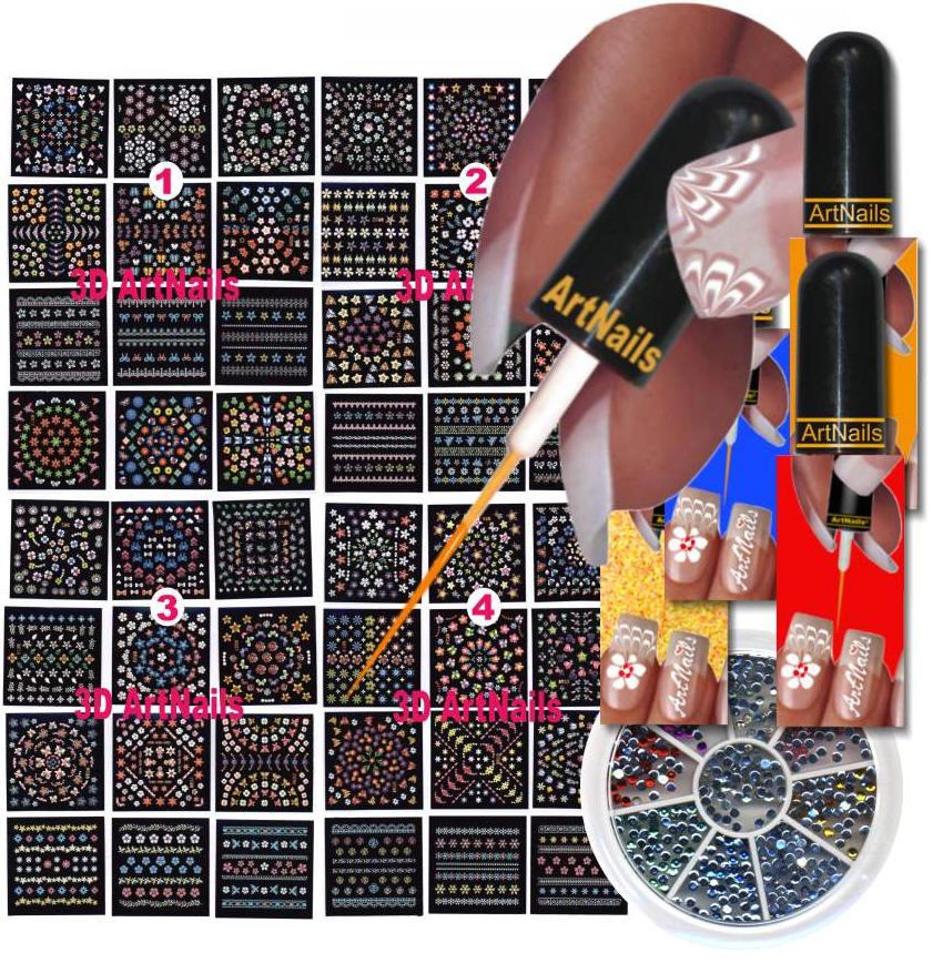 Nail Art Kit ! | MegaPics