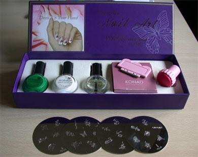 Nail Art Kit Megapics