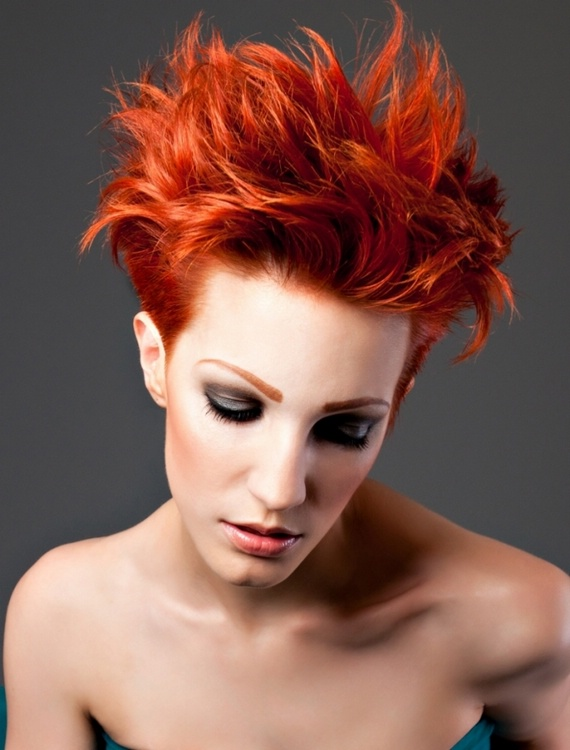 Bright Colors For Hair Summer 2012 12 Megapics